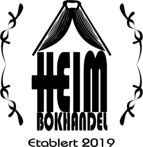 Heim Bokhandel Logo (Etablert 2019)