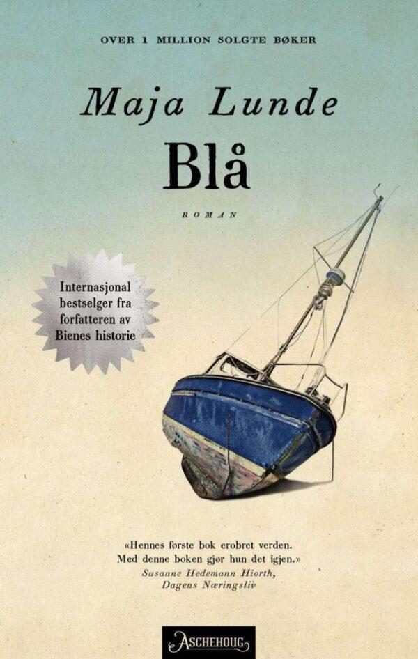 Bokkåpe: Blå av Maja Lunde